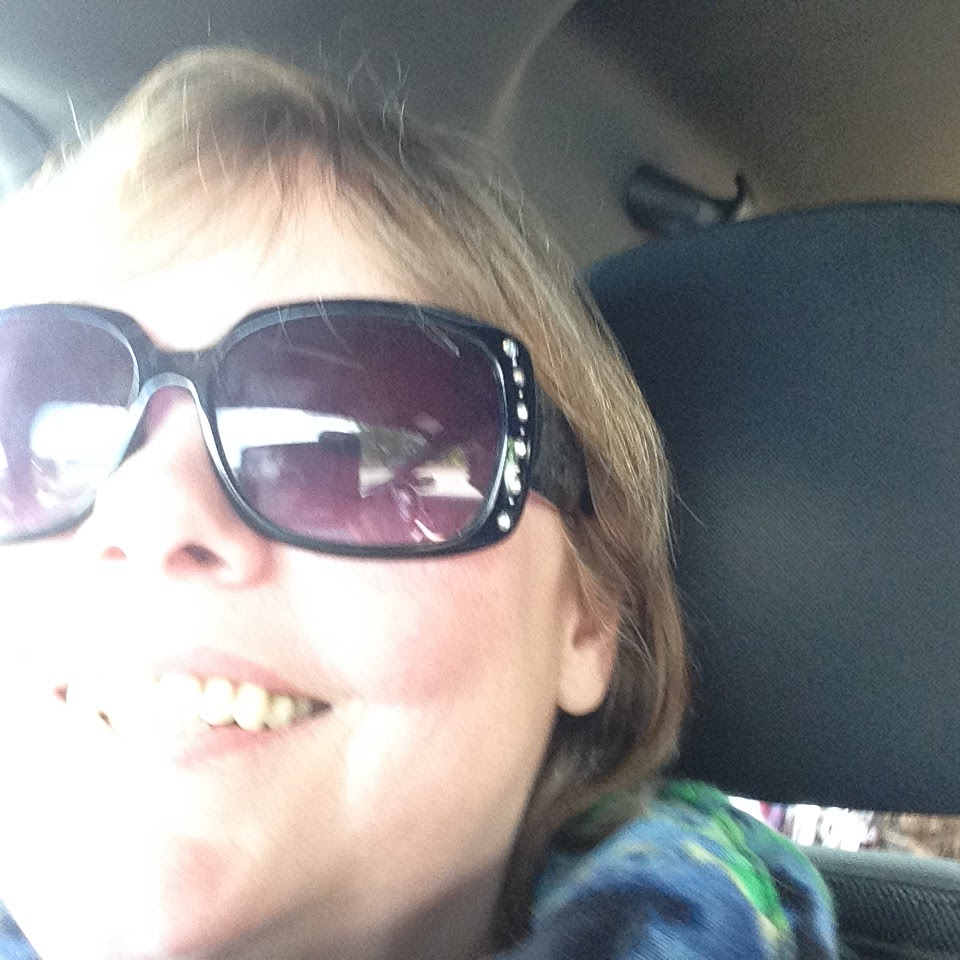 Smiling in spite of the fibromyalgia pain as we head off on our healing journey together.
